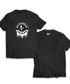 好蠟AUTOHOLIC潮T恤 衣服(尺寸有M,L,XL),黑色,購買請告知尺寸
