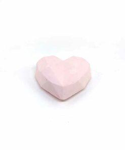 『好蠟』愛心擴香石,溫柔淡粉紅色(淡粉紅),附出風口夾子
