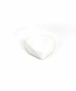 『好蠟』愛心擴香石,白色,附出風口夾子