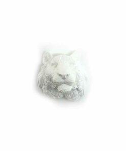 『好蠟』老虎擴香石,白色,附出風口夾子